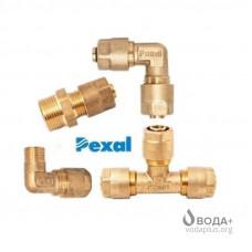 Металлопластиковые фитинги Pexal