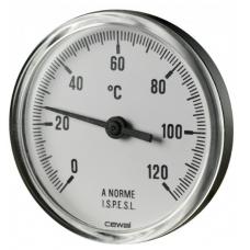 Термометр контактный Ф63 0-120 С (91616000)