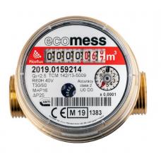 """Счетчик воды Ecomess 1/2"""" ГВ L 80 мм БК"""