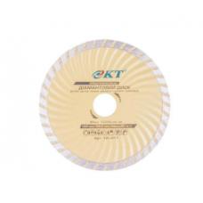 Алмазный диск  КТ PROFI 125 (22.2 Турбоволна)
