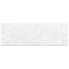 Плитка Стіна Cersanit Alisha White glossy structure cubes (20х60)