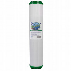 Картридж Aquafilter FCCBKDF20BB с углем из скорлупы кокосовых орехов и загрузкой KDF - 20''x4 1/2''