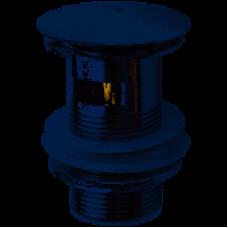 Донный клапан нажимной с переливом (СОА011) HAIBA АС0546