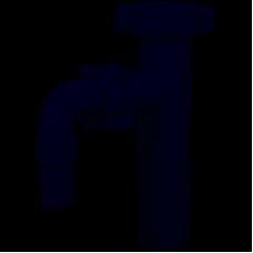 Отвод в сифон для подключения стиральной машины М220 1 1/4*32