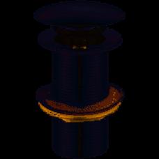 Водослив для умывальника Solomon HG15-03A Click-Clack металл с переливом 09972