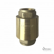 "Клапан обратного хода воды Selba 1/2"" SL 1541 латунный шток EURO"