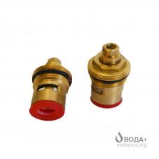 Кран букса керамическая для СОО №42 мелкий шлиц  (1046)